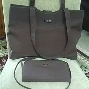 Kenneth Cole Large Tote Plus Crossbody